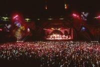 Grateful Dead, ca. 1991: stage lighting