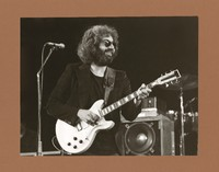 Jerry Garcia, with his Travis Bean 1000A guitar