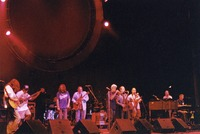 "Marc Ford, J.V. Collier, John Molo (partially obscured), Chris Robinson, Jorma Kaukonen, John D'Earth, Bobby Read, Dave Ellis, John ""J.T."" Thomas, Bruce Hornsby"