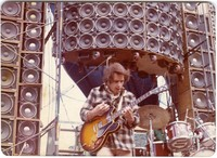 Bob Weir in front of the Wall of Sound