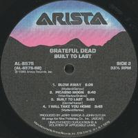Built to Last [album cover]