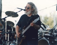 "Jerry Garcia performing ""Lazy River Road"""