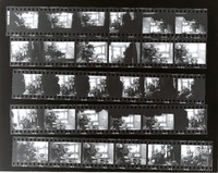 Grateful Dead at 710 Ashbury Street: contact sheet with 30 images