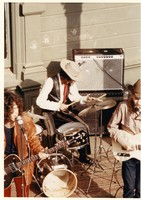 New Riders of the Purple Sage, ca. 1971: Dave Torbert, Spencer Dryden, John Dawson
