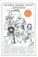 Zoo World (January 20, 1973): review of The Grateful Dead - Warner Bros. 3 WX 2668