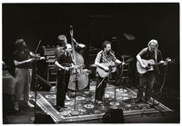 Jerry Garcia Band at the Lunt-Fontanne Theatre: Kenny Kosek, Sandy Rothman, John Kahn, David Nelson, Jerry Garcia