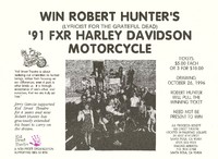 Kid Street Theatre - Win Robert Hunter's '91 FXR Harley Davidson Motorcycle