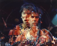Mickey Hart, ca. 1980s: multiple exposure