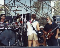 Grateful Dead: Mickey Hart, Bob Weir and Jerry Garcia
