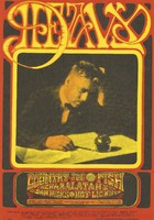 Heavy: Country Joe and the Fish, Charlatans, Dan Hicks and the Hot Licks - Lights by North American Ibis Alchemical Co. - Avalon Ballroom - January 26-28 [1968]