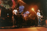Grateful Dead: Phil Lesh and Bob Weir, with Jerry Garcia in the background