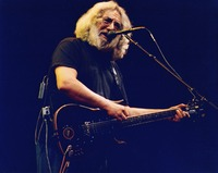 "Jerry Garcia performing ""Maggie's Farm"""