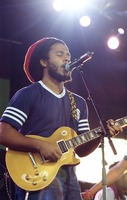 Stephen Marley with the Melody Makers
