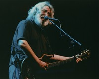 "Jerry Garcia performing ""Stella Blue"""