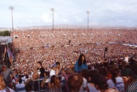 Deadheads: center part of a panorama of the crowd