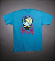 "T-shirt: rainforest animals. Back: ""Spring Tour 1993 / Grateful Dead"" - earth stealie"