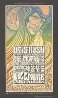 Otis Rush & his Chicago Blues Band, The Mothers, The Morning Glory - Bill Graham Presents in San Francisco - March 3-5 [1967] - Fillmore Auditorium
