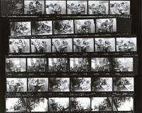 Grateful Dead at 710 Ashbury Street: contact sheet with 35 images