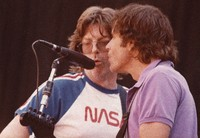 Grateful Dead, ca. 1985: Phil Lesh and Bob Weir