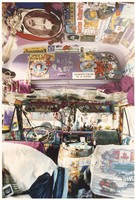 Deadhead van interior, a home away from home