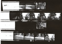 "Grateful Dead at the ""Palo Alto Be-In"": contact sheet with 12 images"