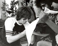 Phil Lesh signing autographs at William and Mary College