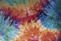 Deadhead tie-dye artwork