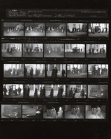 "Grateful Dead: ""Throwing Stones"" video shoot: contact sheet VI of 25 images"