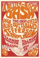 Paul Butterfield Blues Band, Jefferson Airplane - Bill Graham Presents A Blues-Rock Bash, Dance-Concert - April 15-17 [1966] - Harmon Gymnasium / Fillmore Auditorium