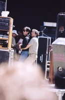 Mickey Hart and Bill Graham