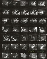 Grateful Dead: Mickey Hart and Bill Kreutzmann: contact sheet with 37 images