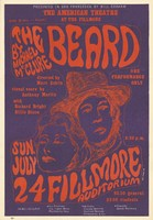 The Beard by Michael McClure, directed by Marc Estrin, starring Richard Bright and Billie Dixon - The American Theatre at the Fillmore - July 24 [1966]