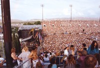 Deadheads: left side of a panorama of the crowd