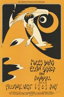 Miles Davis, Elvin Bishop Group, Mandrill - Lights by Orb - Bill Graham Presents in San Francisco - Fillmore West - May 6-9, 1971