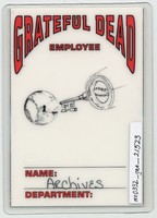 Grateful Dead - Summer 1993 - Access All Areas [laminate]
