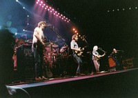 Grateful Dead: Phil Lesh, Mickey Hart, Bob Weir, Jerry Garcia, and Vince Welnick