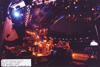 Grateful Dead: view from the back of the stage