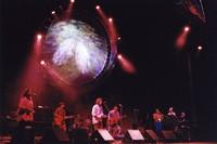 Debbie Henry, unidentified guitarist, unidentified drummer, Bob Weir, Jorma Kaukonen, Sherri Jackson, unidentified, Bruce Hornsby