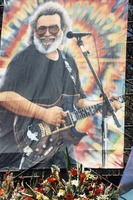 Memorial for Jerry Garcia: portrait of Jerry