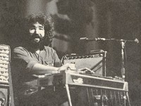 Jerry Garcia playing pedal steel guitar