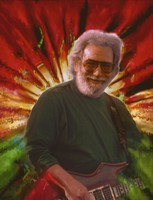 Jerry Garcia (manipulated image)