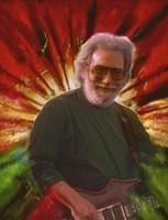 Jerry Garcia (manipulated image)