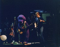 "Grateful Dead: Barney joins Bob Weir during ""Aiko Aiko"""