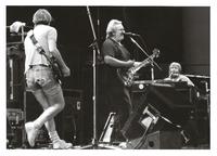 Grateful Dead, ca. 1989: Bob Weir, Jerry Garcia and Brent Mydland