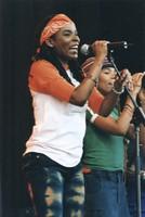 Sharon Marley and Cedella Marley