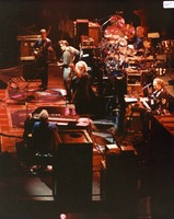 "Grateful Dead: Phil Lesh, Bruce Hornsby, Bob Weir, Jerry Garcia, Bill Kreutzmann, Mickey Hart, Vince Welnick, performing ""Valley Road"""