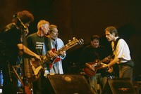 Ratdog, Hot Tuna, and Los Lobos - Furthur Festival 1996: Rob Wasserman, Jack Casady, Jorma Kaukonen, David Hidalgo, and Bob Weir