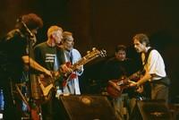 Ratdog, Hot Tuna, and Los Lobos - Furthur Festival 1996: Rob Wasserman, Jack Casady, Jorma Kaukonen, David Hidalgo, and Bob Weir