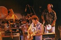Mickey Hart, Mark Karan, and Bill Kreutzmann