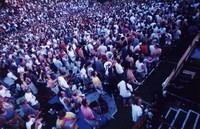 Grateful Dead at the Seattle Center Memorial Stadium: audience